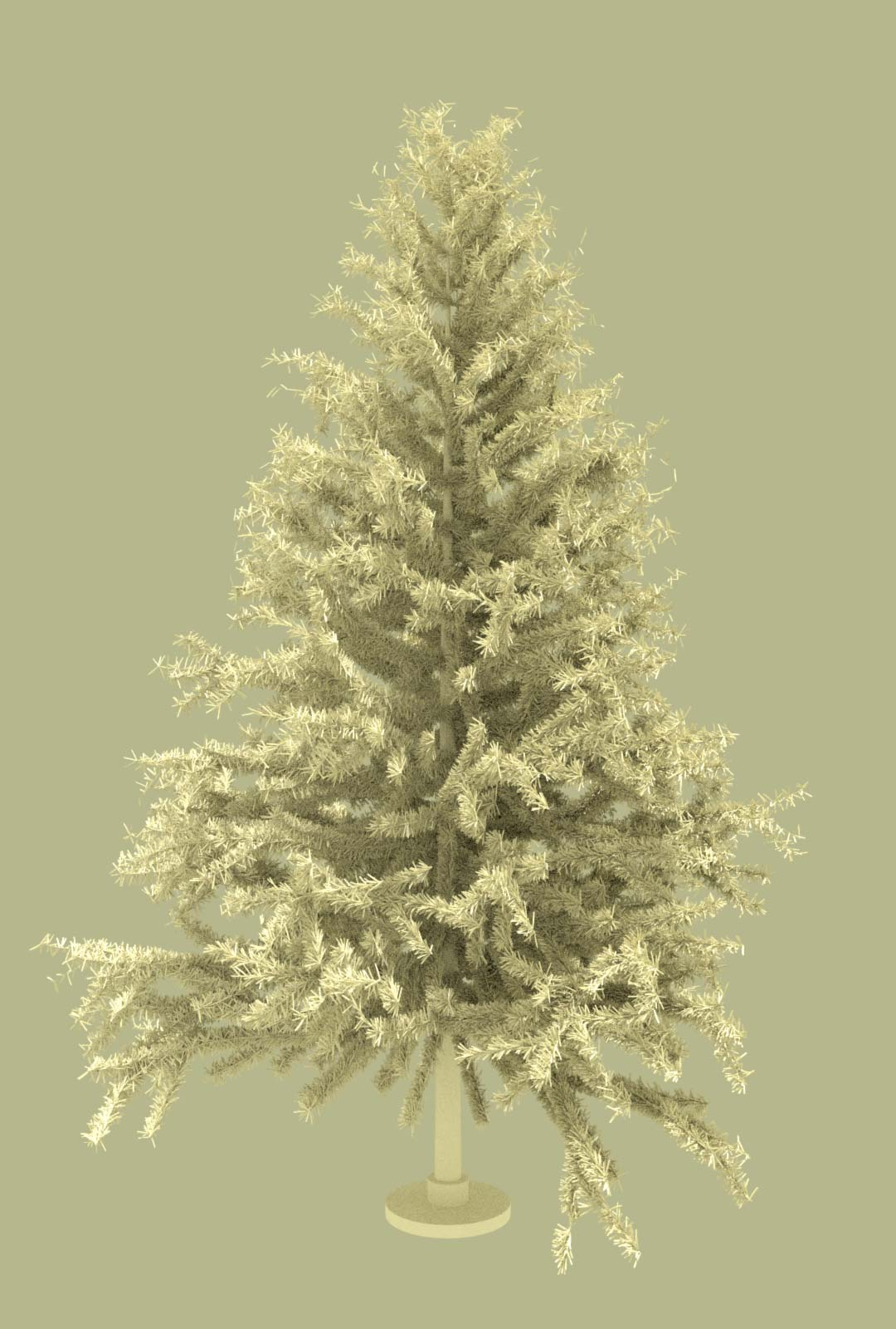 Pine Tree Free 3D Model Big