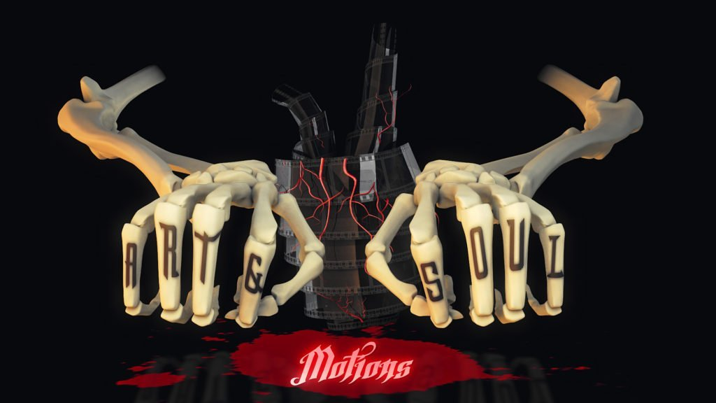 Animate My Logo - Skeleton 3D Hands Logo Animation Project