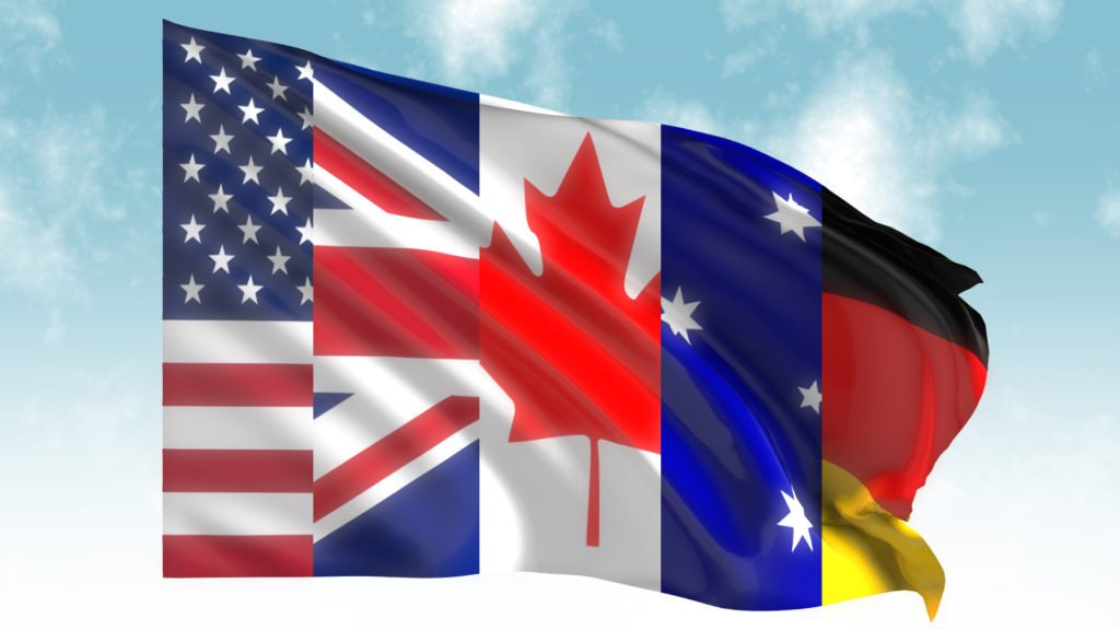 Waving Flag 3D Render Free Download