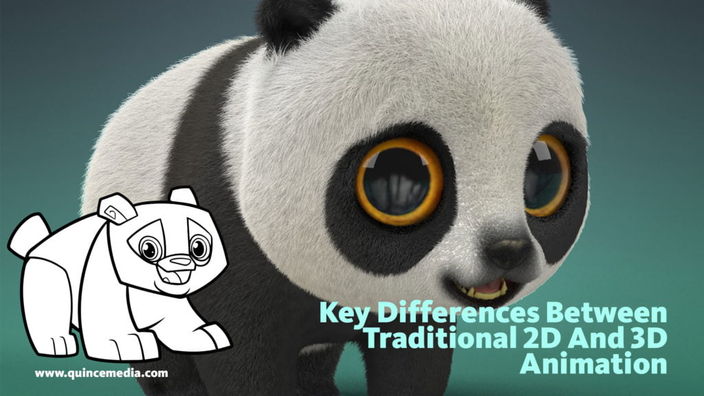 Traditional 2D Vs 3D Animation