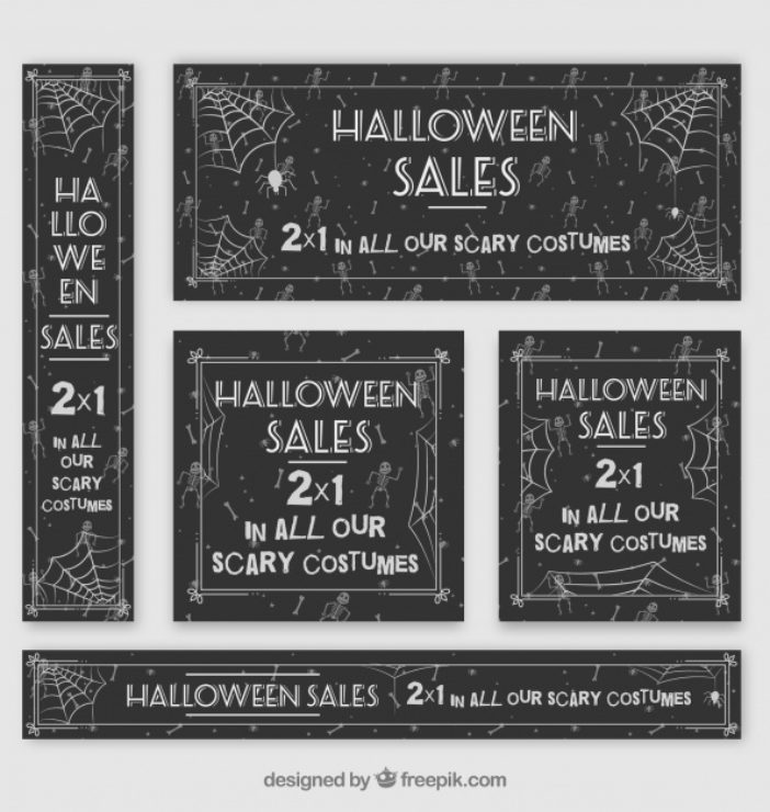 Halloween Discount Template