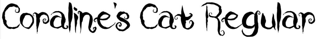 Coraline's Cat