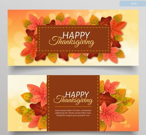 thanksgiving banners 2017 quince media. Black Bedroom Furniture Sets. Home Design Ideas