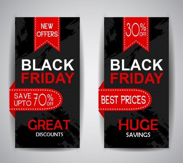 Black Friday Red Leaflet