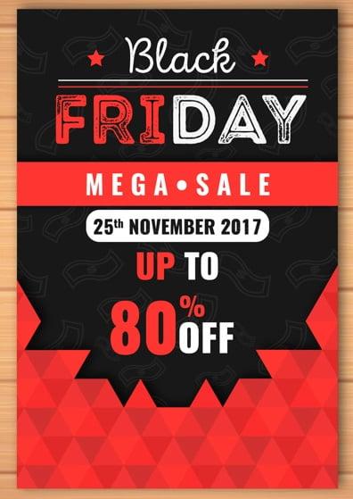 Black Friday One Side Flyer