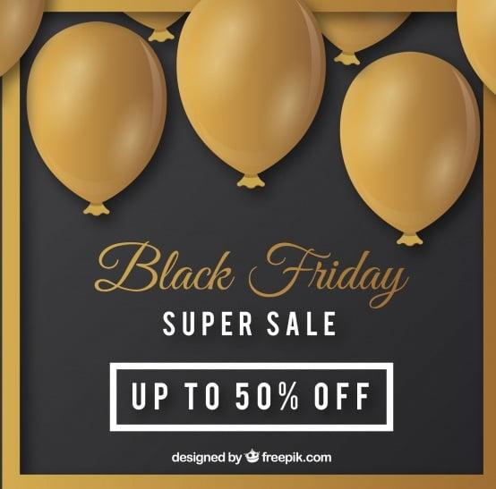 Black Friday Elegant Background Vector