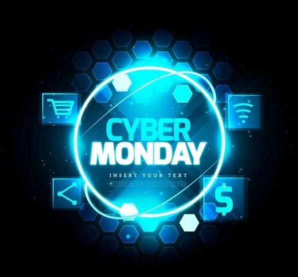 Cyber Monday Free Background