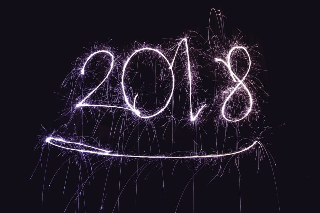 2018 New year's Fireworks
