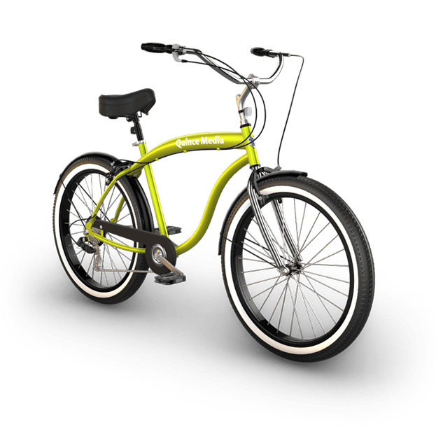 Bike Product 3D Rendering