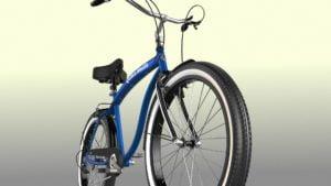 Bicycle 3D Model Rendering