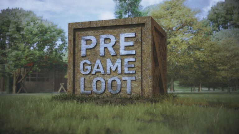 Pre Game Loot 3D Logo Animation